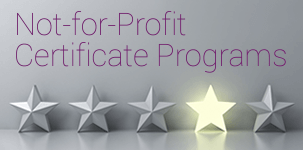 Not-for-Profit Certificate Programs