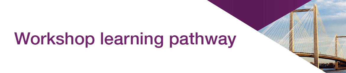 Workshop learning pathway