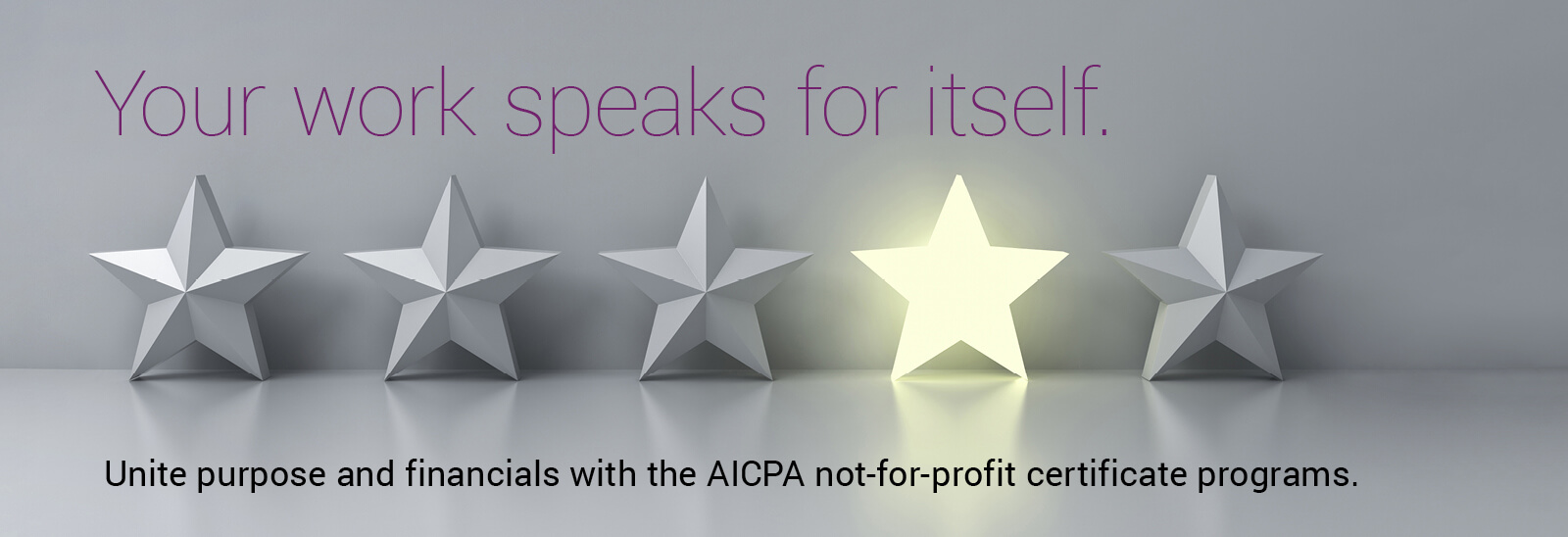 Not For Profit Certificate Program Aicpa Certificates