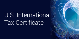 U.S. International Tax Certificate Program